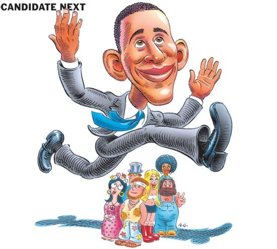 Barack Obama: not a Boomer.
