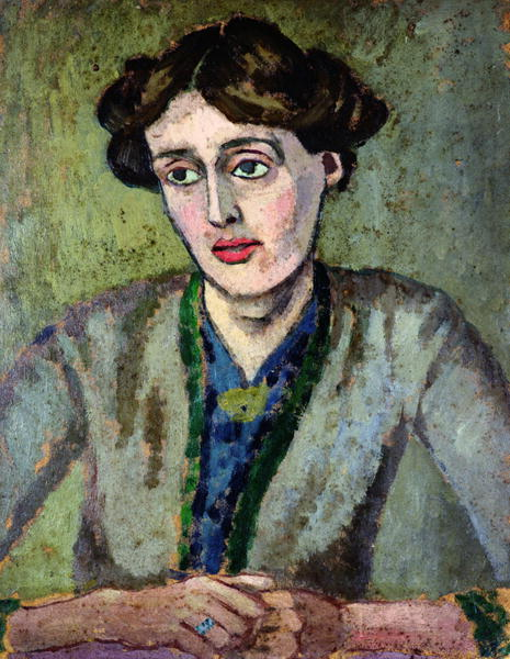 Portrait of Virginia Woolf by Roger Fry