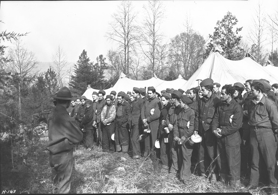 The Civilian Conservation Corps, 1933