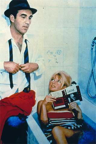 Bardot in <em>Contempt</em>