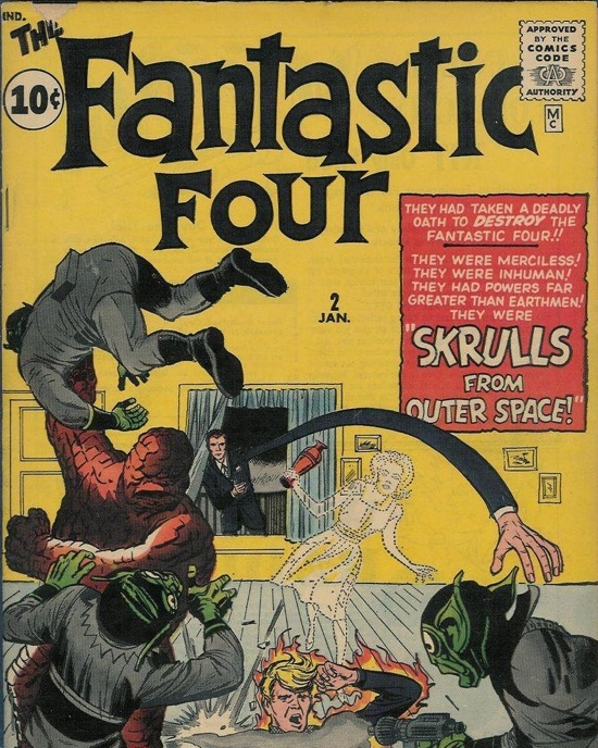 <em>Fantastic Four</em>, no. 2 (1962)