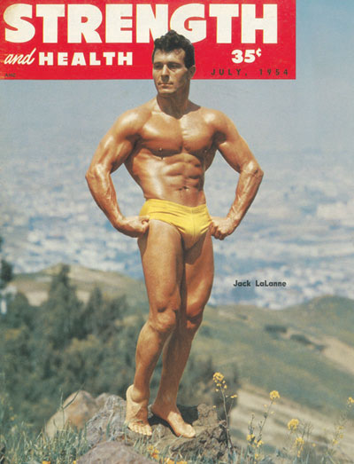 Jack LaLanne, real-life strongman
