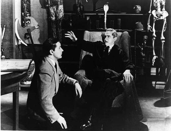 Ed Wood and Bela Lugosi
