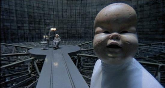 A scene from Terry Gilliam's <em>Brazil</em>.