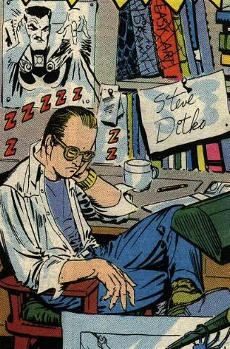 Steve Ditko Net Worth