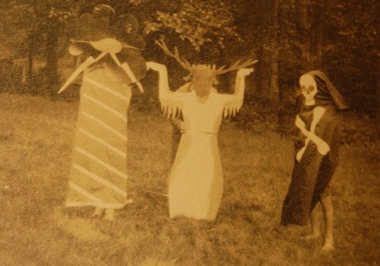 A performance of The Great Taboo, at a Kiboo Kift gathering in 1924