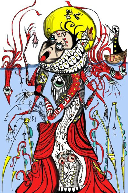 """Akt Sicks: the Antediluvian"" WSInkDrip 12/08/2009 By Walter Sickert"