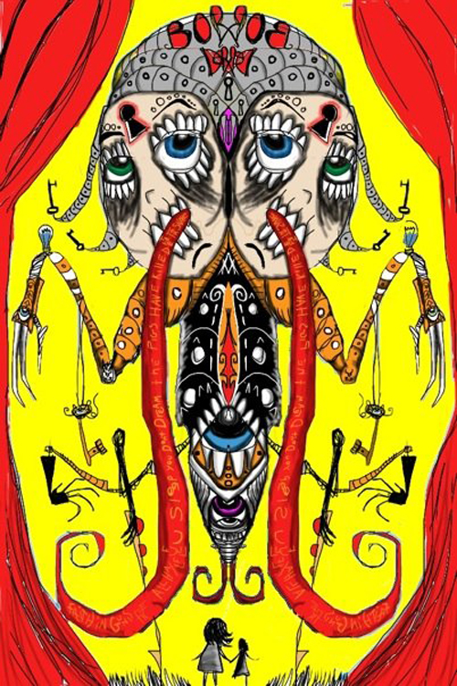 """Tongue of Inquiry"" WSInkDrip 12/07/2009"