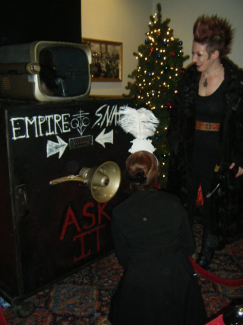 ZENITH AMERICAN TeLe-SEER as it appeared on New years eve 2009 at Boston Symphony Hall