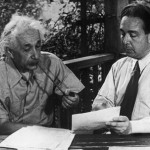 Albert Einstein and Leó Szilárd, 1946