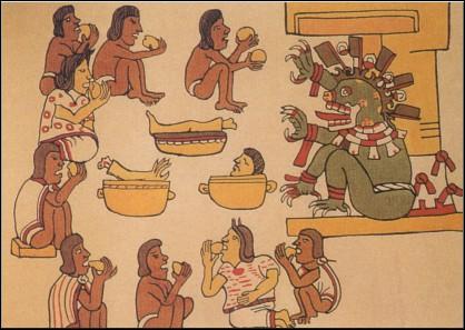 Aztecs - Cannibalism
