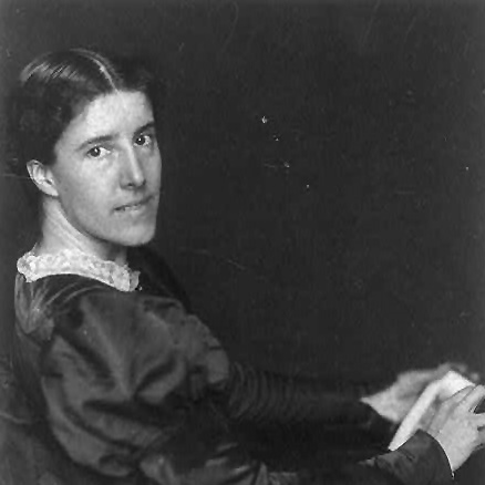 Charlotte Perkins Gilman, by Frances Benjamin Johnston