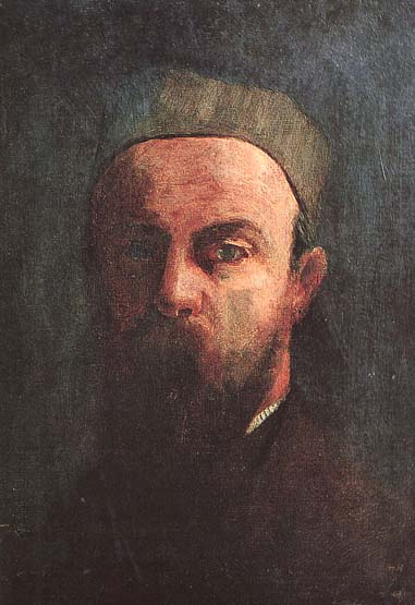Odilon Redon's self-portrait