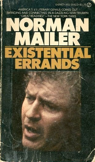 norman mailer essay collection Norman mailer's first feature filmmaking effort stars the director and his two longtime collaborators buzz farbar and mickey knox as a trio of gangsters holed up in a ramshackle new york.