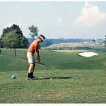 1970s golf snap