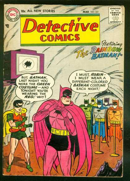 Batman cover Silver Age