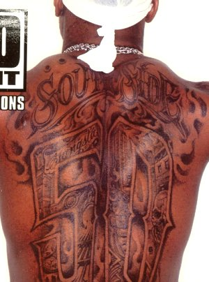 Tribal Cross back Tattoos Tattooed Revivalists | HiLobrow