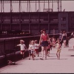 Young Students Learn About Their City as Teachers Guide Them on a Tour through Morton Street Pier on the Hudson River 05/1973 — from the U.S. National Archives