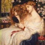 Lady Lilith — 1867 painting by Dante Gabriel Rossetti
