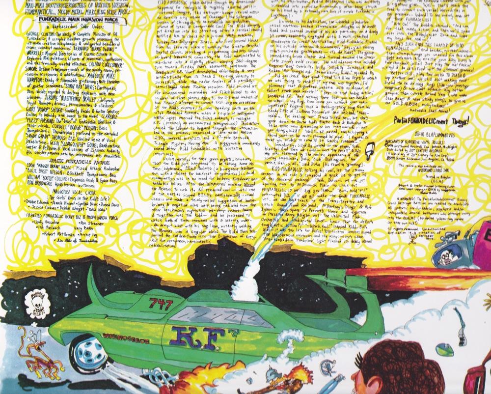 Tales of Kidd Funkadelic, back cover (Funkadelic, 1976)