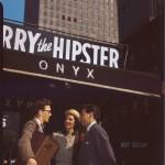 Portrait of Toots Thielemans, Adele Girard, and Joe Marsala, Onyx, New York, N.Y., ca. 1948