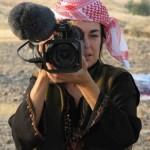 Annie filming in Pakistan