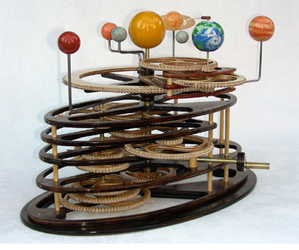 how to make an orrery