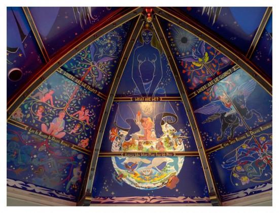 Alasdair gray hilobrow for Clarks mural fresco