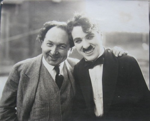 Godowsky and admirer.
