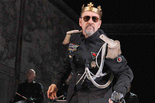 Kevin Spacey as Richard III, 2012