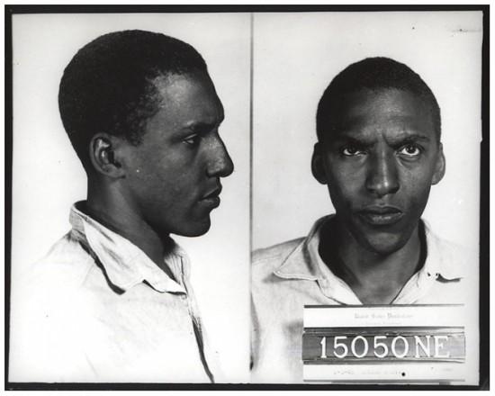 Federal Bureau of Prisons mugshot, c. 1944