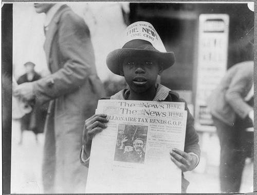 newspaper 1921