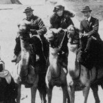 From left: Winston Churchill, Gertrude Bell, T.E. Lawrence