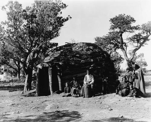 Hopi American Indian Hogan