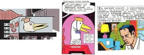 garfield goose