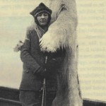 Miss Boyd med isbjørn