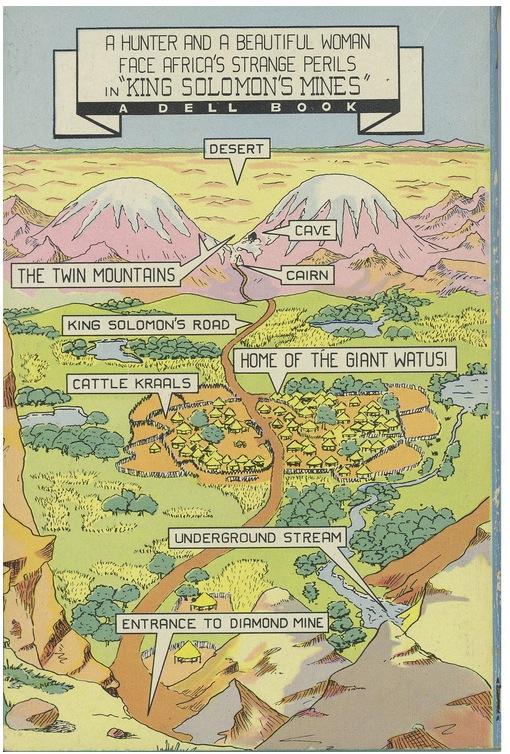haggard solomon map
