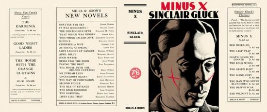 sinclair gluck minus x