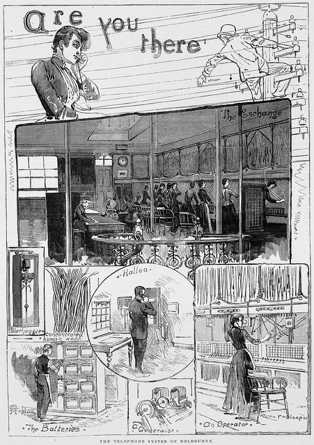 1890 telephone system of melbourne
