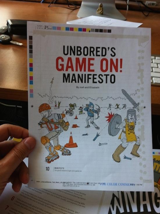 unbored game manifesto