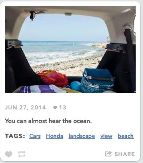 Honda tumblr