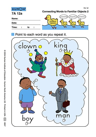 Free printable worksheets for kindergarten reading