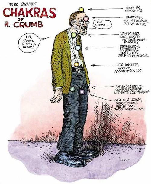 The Seven Chakras of R. Crumb