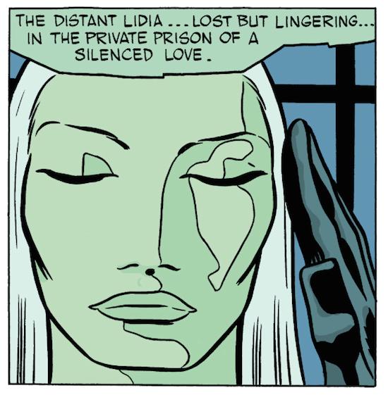 Lidia face