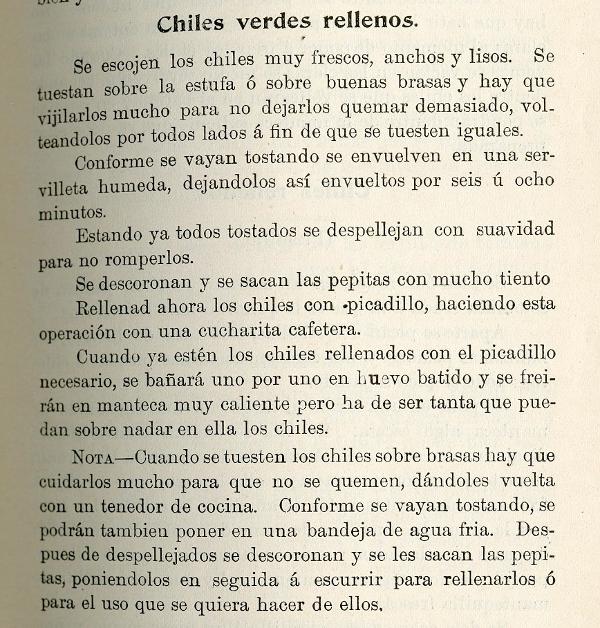 From El Cocinero Español, San Francisco, 1898.