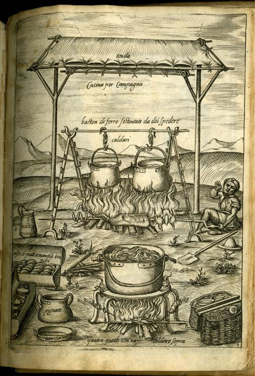 from Scappi's Opera, 1570.