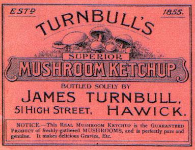 Turnbulls Mushroom Ketchup