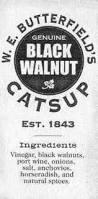 walnut catsup