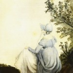 1804 watercolor of Jane Austen by her sister Cassandra