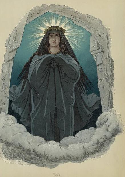 Erda, the Norse Earth goddess